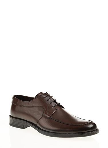 İnci %100 Deri Klasik Ayakkabı Kahve